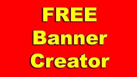 printable banner maker business banner maker free 28 images free youtube