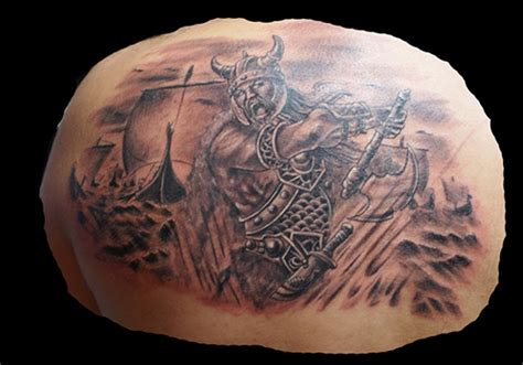 25 encouraging viking tattoos creativefan