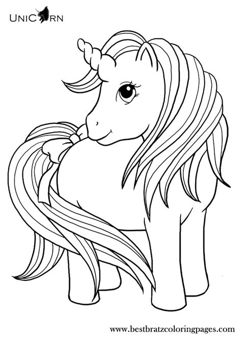 unicorn coloring pages for kids coloring pages