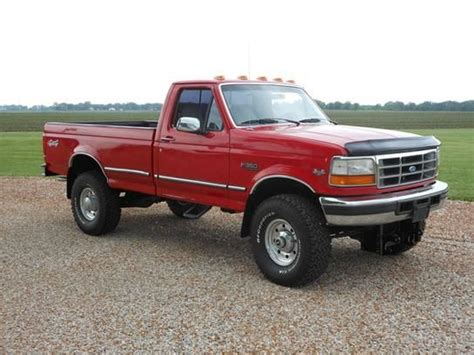 Single For Sale by Cars For Sale 1996 Ford F350 4x4 Regular Cab Xlt In