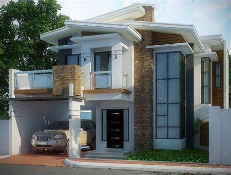 gambar desain rumah tingkat minimalis 2 lantai modern desain rumah carport pada gambar rumah minimalis modern 2 lantai