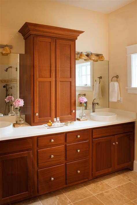 Bathroom Makeup Vanities » New Home Design