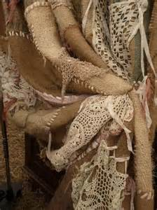 Burlap And Lace Curtains So Rustic And Burlap And Lace Curtains One Could Lots Of Putting This
