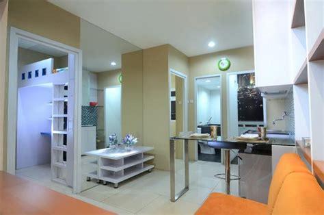 tata interior apartemen green pramuka type  desain