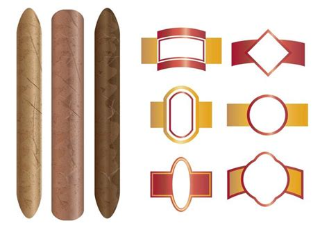 cigar dossier template 90 cigar wrapper template cigar printable labels