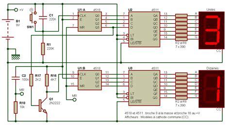 resistor counter 7 segment display schematic symbol resistor schematic elsavadorla