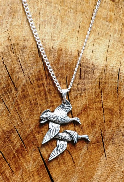 Flying Duck Necklaces by Flying Ducks Necklace Pendant Gift