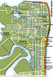 atlantic city us map atlantic city map map of atlantic city