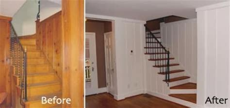 paneling before after before after pinterest how to paint wood paneling wall steps by steps
