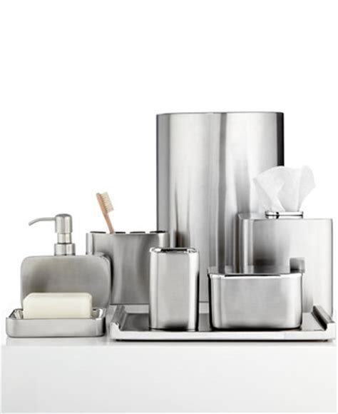 brushed stainless steel bathroom accessories closeout hotel collection hotel modern brushed stainless