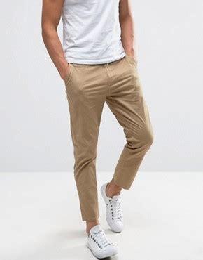 Cropted Fit To Xl s chino trousers joggers shop s joggers asos