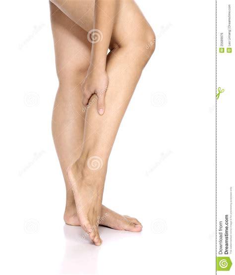 leg sprain leg injury royalty free stock image image 25689976