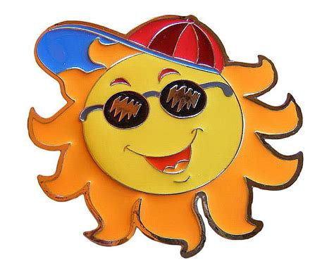 funny hot sun pictures colorful sun hat cap south funny hot sunny belt buckle