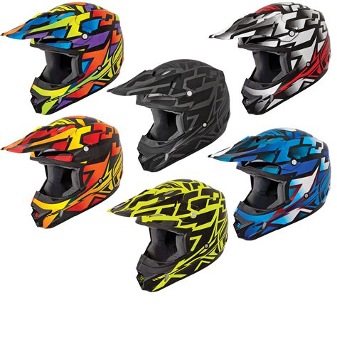 Fly Racing Kinetic Block Out Motocross Helmet Motocross