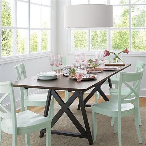 crate and barrel dining room table vintner mint side chair in dining chairs crate and