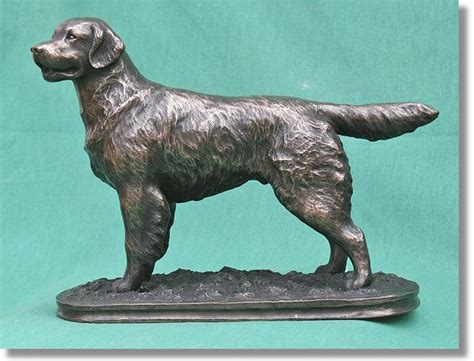 golden retriever statue the golden retriever statue breed sculptures from canine arts