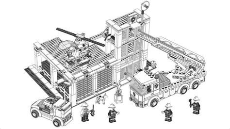 lego fire truck coloring page 1000 images about lego on pinterest coloring lego and