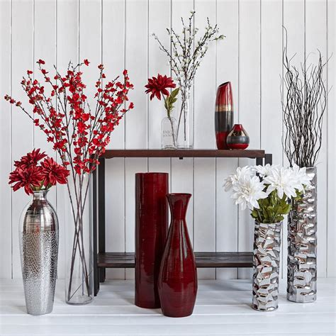vase decoration ideas glass floor vase living rooms room and decoration