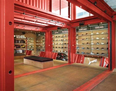 puma city shipping container store lot ek archdaily puma city shipping container store lot ek archdaily