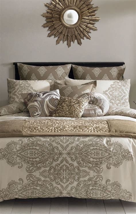 taupe bedroom bedroom decor pinterest s taupe and gold bedding set http www beddingworld co