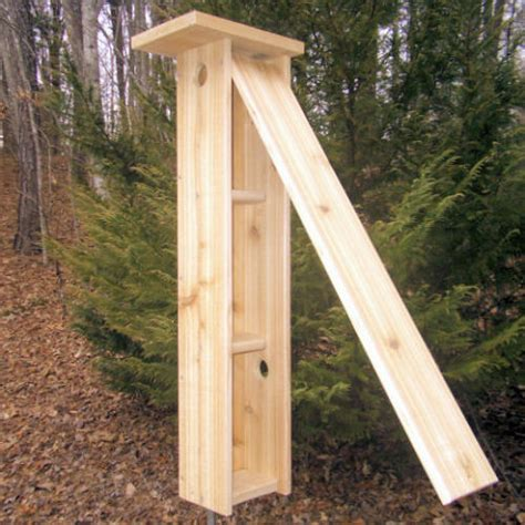 flying squirrel house plans 3 tiered flying squirrel nest box detailed plans