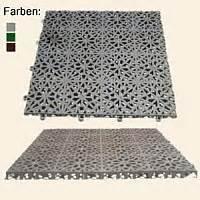 kunststoffplatten fã r balkon bodenplatten f balkon terrasse ger 228 teschuppen dachgarten dachgestaltung garten