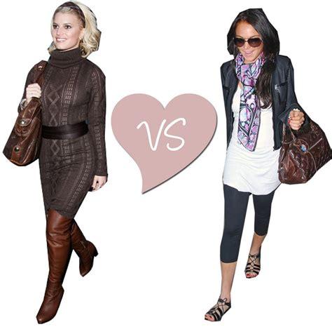 Fashion Faceoff Lindsay Vs by Fashion Battle Tell