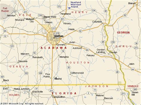 map of houston county alabama usgs water resources of the united states