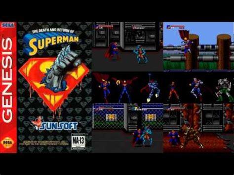 genesis version the and return of superman showdown theme