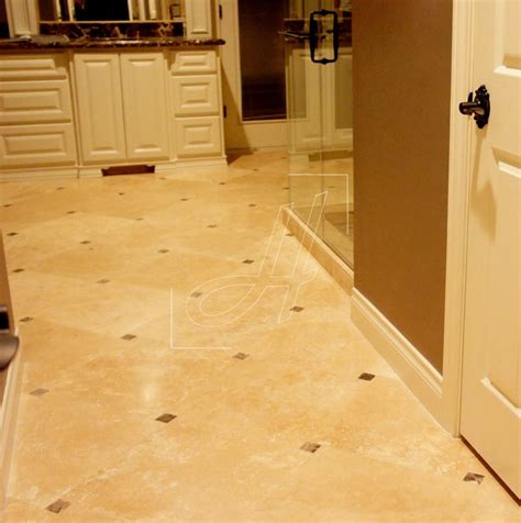 travertine bathroom floor bathroom flooring bianco romano travertine tile 18x18
