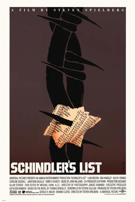 schindlers list wikipedia the genius of saul bass