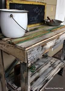 potting bench diy diy pallet potting bench yahoo news