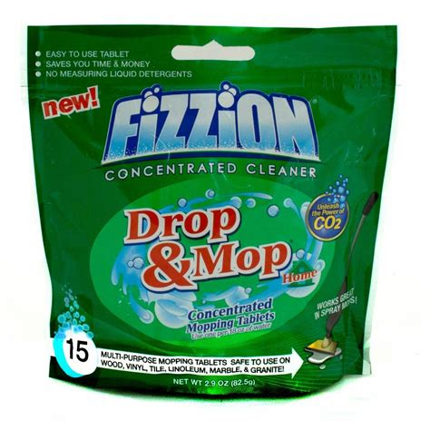drop in mop fizzion 18 oz refill drop and mop multi purpose mopping
