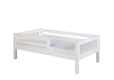 guard rails for twin bed camaflexi twin size day bed with front guard rail