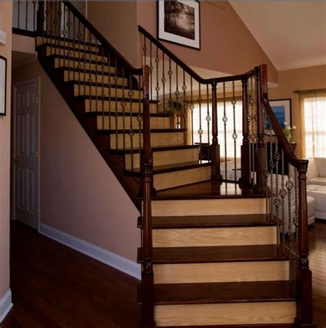 Hardwood Floor Stairs Design Ideas For Stairs To Match Your Custom Hardwood Floors