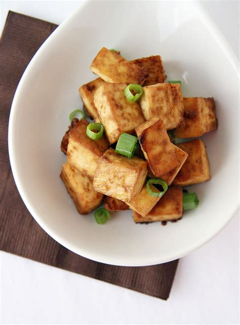baked tofu recipe with soy and sesame recipe dishmaps
