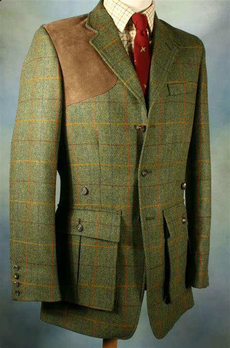 Trophée De Chasse Déco by A Besoke Norfolk Shooting Jacket Cut In Tweed