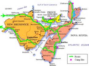 maritime map canada atlantic maritime canada