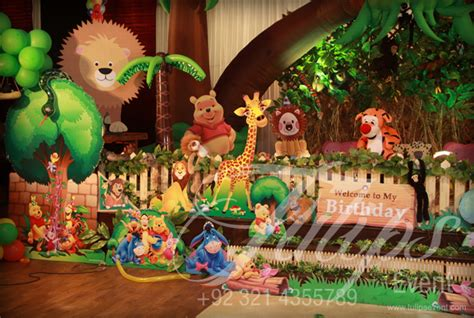 themed events ideas jungle party first birthday party ideas