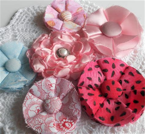 Handmade Flowers From Paper And Fabric - laughngypsy handmade paper flowers