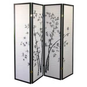 home decorators collection 4 panel bamboo room divider