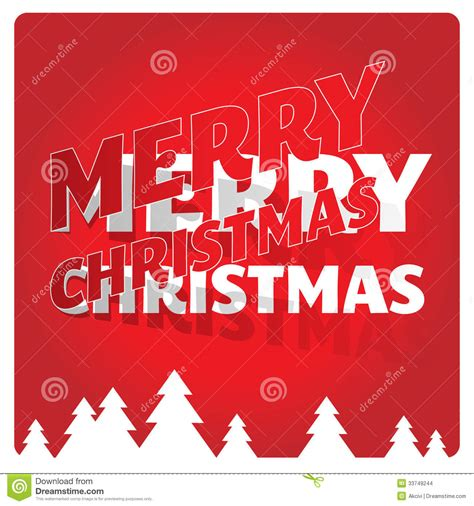 Greeting Card Template Merry by Merry Greeting Card Stock Images Image 33749244