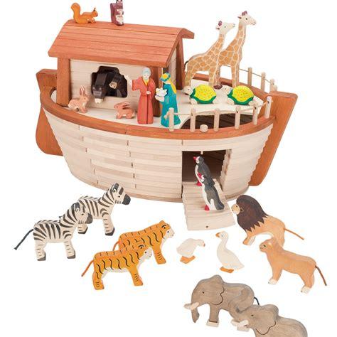 holztiger wooden toy noahs ark lollipop sky