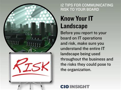 12 Tips On How To Communicate With Your Partner About by 12 Tips For Communicating Risk To Your Board