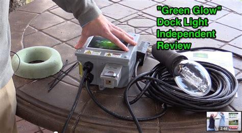 green glow dock light quot green glow quot dock light independent review