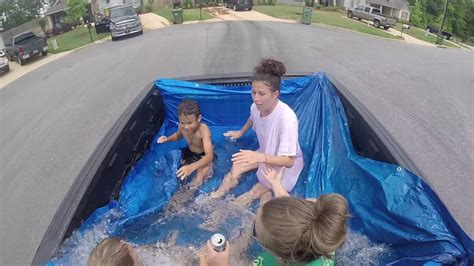 truck bed pool truck bed pool 2016 youtube