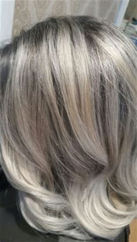 will blonde highlights help hide grey grey hair with highlights and lowlights hair color