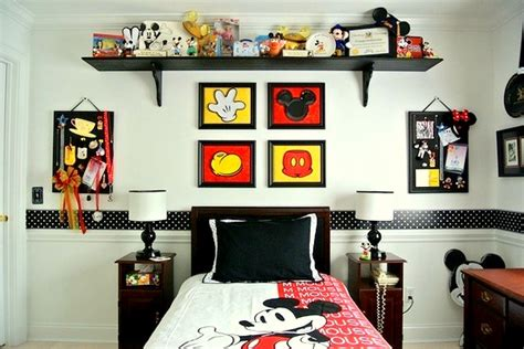 mouse in the bedroom decorate with fun mickey mouse kids bedroom ideas