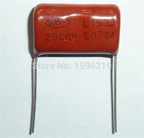 Capasitor 153j 2000v 100pcs cbb capacitor 153 2000v 153j 2kv 0 015uf 15nf p24 cbb81 metallized polypropylene