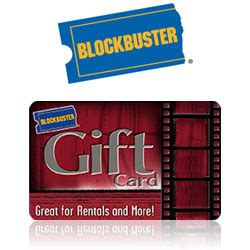 Blockbuster Gift Cards - buy blockbuster 174 gift cards at giftcertificates com